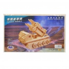 Woodcraft DIY Model 3D Puzzle Toys - Patriot Missile