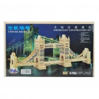 Woodcraft DIY Model 3D Puzzle Toys - Tower Bridge