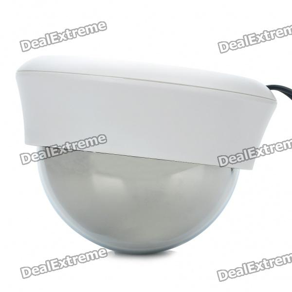 1 / 3 Sharp CCD Surveillance Security Camera - Silver + White (DC 12V)