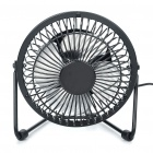 "6"" AC Powered 3-Blade Cooling Fan - Black (220V)"