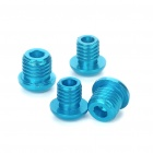 8mm Front Fork & 10mm Rear Frame Bolts Brake Boss Plugs Set - Random Color (4-Piece Pack)