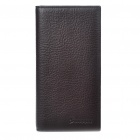 Genuine Leather Wallet Purse with Carrying Pouch