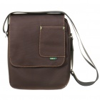 Protective Nylon Fabric One-Shoulder Bag for Ipad/Ipad 2/Lenovo LePad/Motorola XOOM - Coffee