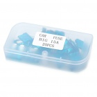 15A Car Power Fuses (20-Piece Pack)