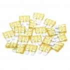 20A Car Power Fuses (20-Piece Pack)