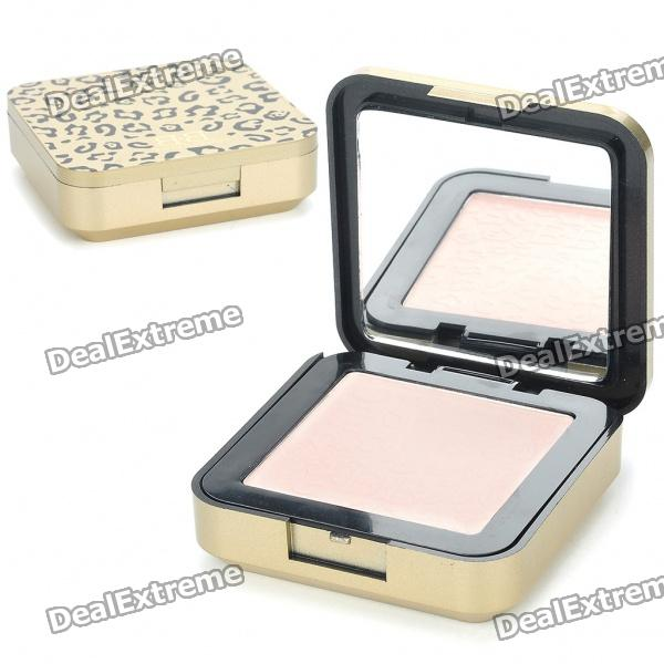 Cosmetic Make-Up Pink White Color Pressed Powder (8.5g)