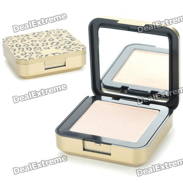 Cosmetic Make-Up Shiny White Color Pressed Powder (8.5g)