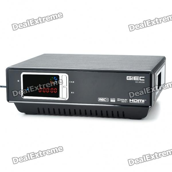 1080p HDMI Netzwerk HD Multimedia Player w / 2xUSB Host / SATA / HDMI / LAN / optisch / koaxial / AV-In / AV-Out
