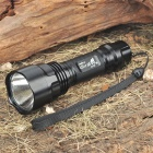 UltraFire C2-T60 CREE XM LT6 3-Mode 1200-Lumen White LED Flashlight w/ Strap (1 x 18650 / 1 x 17670)