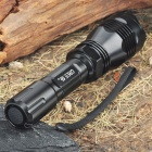Ultrafire C9-T60 XM-LT6 3-mode 1200-Lumen LED Flashlight Blanc w / Strap (1 x 18650/1 x 17670)