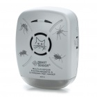 Multi-Purpose Electro-Magnetic Ultrasonic Pest Bug Repeller with Flash Light - Gray (220V)