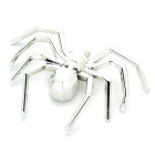 Spider Style Car Decoration Sticker - Silver