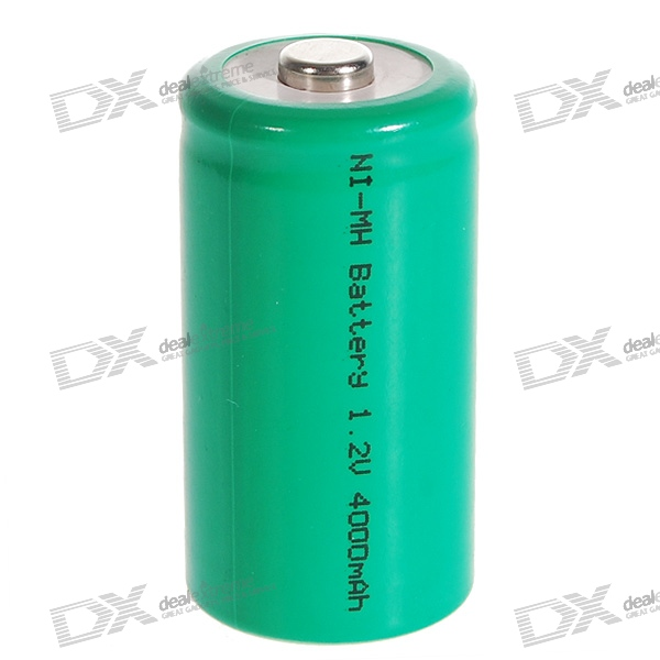 Maxuss 1.2V 4000mAh Ni-MH Rechargeable C-Type Battery Cell