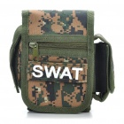 Multi-Purpose Camouflage Carrying Waist Bag for Camera/Cell Phone/Wallet + More