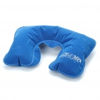 Travel Camping U Style Inflatable Air Pillow Cushion - Color Assorted