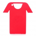 Creative Protective NIKE T-Shirt Style Silicone Case for iPhone 4 - Red