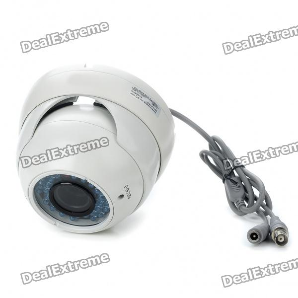 DX Explosion-Proof Waterproof Surveillance Security Camera with 36-LED IR Night Vision (DC 12V)