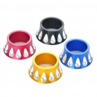 Aluminum Alloy CNC Front Fork Washer Bike Accessories - Color Assorted