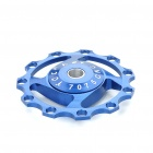 Universal Aluminum Alloy CNC Jockey Wheel for Bike (Random Color)