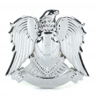 Cool Eagle Style Car Decorative Sticker - Silver
