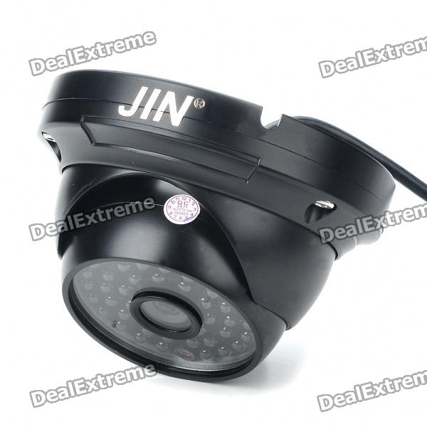 1/3 CCD Surveillance Security Camera w/ 48-LED IR Night Vision - Black (DC 12V) стенка амароне arnm02b в уфе