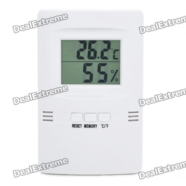 2.8 LCD High Precision Digital LCD Thermometer and Hygrometr (1 x AAA) sw c2 0 200 celsius dial setting temperature controller