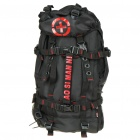 Multi-Function Outdoor Backpack Bag - Black