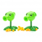 Buy Cute Plants vs. Zombies Peashooter Toy with 10-BB Bullets (Pair)