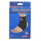 Professional Adjustable Elastic Ankle Wrap Brace - Black
