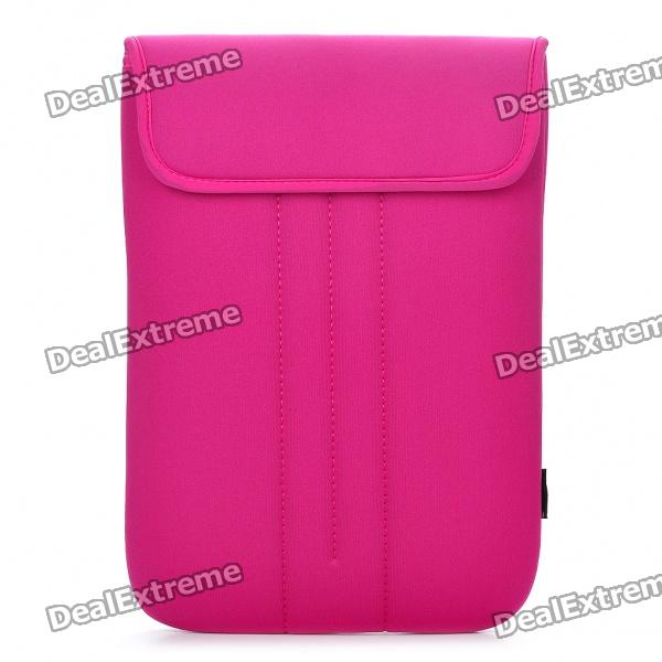 Stylish Protective Soft Bag for 13.3 Laptop Notebook - Pink enkay heat transfer printing protective sleeve bag for 9 9 7 inch laptop notebook pink black