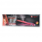 Mini Professional Hair Straightener - Deep Pink (110~240V)