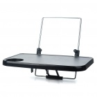 Multi-Function Auto Car Laptop Notebook Holder Stand Mount - Black