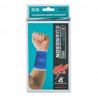 Protective Sports Elastic Wrist Support Brace Wrap - Blue (Pair)