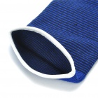 Protective Sports Elastic Elbow Support Brace Wrap - Blue (Pair)