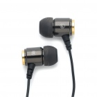 RAXCONN In-Ear Stereo Earphone - Black (120CM-Length)
