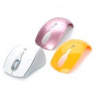 Rapoo Bluetooth Optical Mouse w 800/1600DPI Receiver / 2 x Shell - Weiß (1 x AAA)