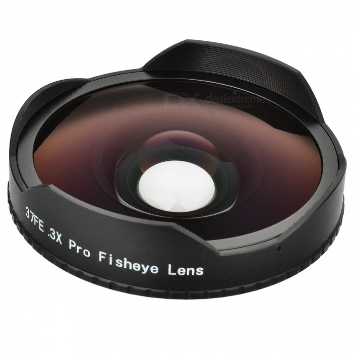 37mm 0.3X Super Wide Angle Fisheye Lens