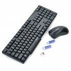 Rapoo 1800 Wireless Keyboard & Mouse Combo Set with USB Receiver (1 x AA + 1 x AA)