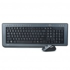 Rapoo 8200 Wireless Keyboard & Optical Mouse Combo Set with USB Receiver (2 x AAA + 2 x AAA)
