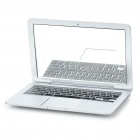 Apple MacBook Shaped Cosmetic Mirror - Silver