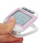 "1.7"" LCD Clip-on Pedometer with Body Fat Analyzer - Color Assorted (1 x LR1130)"