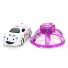 Creative PVC Mini Rechargeable IR Remote UFO - Purple