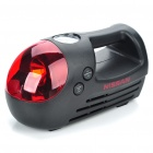 Mini Car Air Compressor Pump Inflator with Red LED Emergency Light (DC 12V)