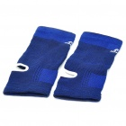 Protective Sports Elastic Ankle Support Brace Wrap - Blue (Pair)