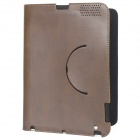 Ultrathin Protective Wake-Up/Sleep Smart Cover Case for iPad 2 - Coffee