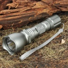 UltraFire 18WG-T60 XM-LT6 5-Mode 910-Lumen White LED Memory Flashlight - Silver (1 x 18650)