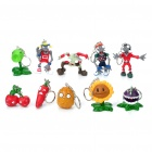 Buy Plants vs Zombies Figure Keychains (10-Piece Pack)