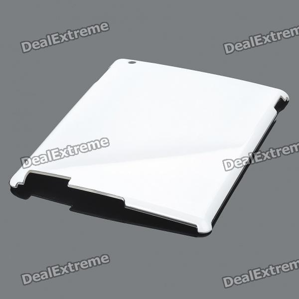Protective Hard PVC Cover for Ipad 2 - White