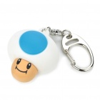 Cute Mario Mushroom Water-proof Style Watch - Blue + White + Brown (1 x 377)