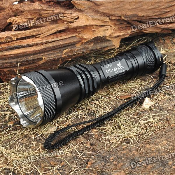 UltraFire WF-950L 5-Mode 800-Lumen White LED Memory Flashlight (1 x 18650/1 x 17670) ultrafire c2 t60 5 mode 1200 lumen memory white led flashlight 1 x 17670 1 x 18650